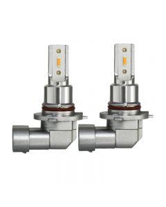 2 pièces H11 H8 LED ampoules antibrouillard de voiture H9 H16 9005 9006 2400Lm 6000K blanc 1900K ambre 8000K bleu Auto DRL antibrouillard