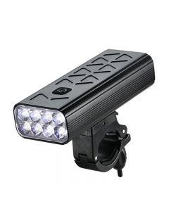 10000mAh lampe de poche pour vélo lumière avant vélo 8T6 LED USB Rechargeable affichage vtt vélo phare