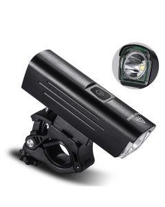 WEST BIKING1300 Lumens Bike Light Night Riding Support rotatif 4500mAh Rechargeable Lampe de poche étanche