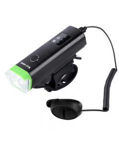 WEST BIKING Avant Vélo Lumière 1800mAh USB Rechargeable LED Vélo Lumière Étanche Vélo Phare