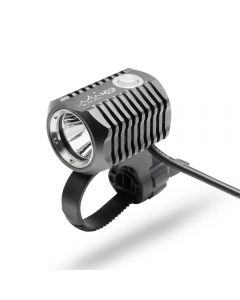 ON THE ROAD MX3-BL Lampe de vélo avant Ensemble rechargeable Lampe de vélo à LED Support USB 18650 Batterie