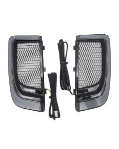 Lumière de grilles inférieures de carénage de moto LED pour Harley Touring 14-19 CVO Street Glide Electra Road