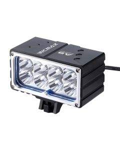 VICMAX A8 lumière de vélo XM-L2 (u2) LED 7200LM 8xT6 lumière LED lumière de vélo lumière avant 18650mAh batterie