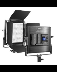 Neewer a amélioré le panneau de LED bicolore dimmable de lumière vidéo de 660 LED avec l'écran d'affichage à cristaux liquides pour la photographie de prise de vue vidéo