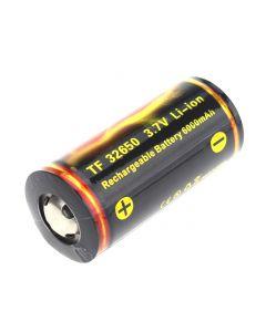 Trictfire De Qualité Tf 32650 3.7V 6000Mah Batterie De Li-Ion Protégée - (1 Pièce)