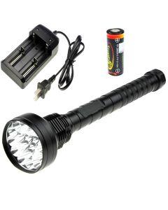 Oem Trustfire 18T6 18000-Lumen Cree Cree Xm-L T6 Lampe De Poche Led + 4 * Trustfire Tf 26650 Batterie + Chargeur
