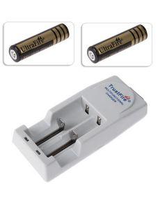 Chargeur De Batterie Trustfire De Haute Qualité Pour 10430/10440/14500/16340/17670/18650/18500 Batterie Avec Batterie De 2 X 18650 4000Mah