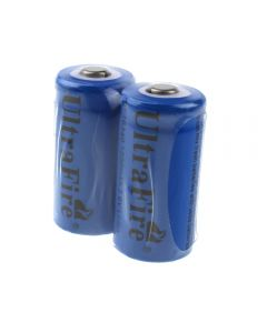 Batterie Li-Ion Rechargeable 3.6V Ultrafile St 16340 1200Mah (2 Paquets)